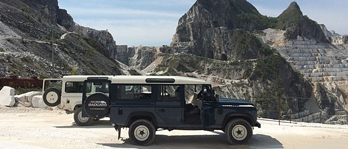 Tour cave di marmo in jeep - Carrara