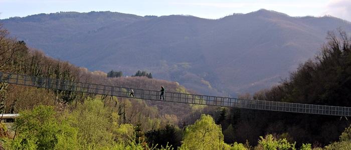 San Marcello Pistoiese - Ponte sospeso
