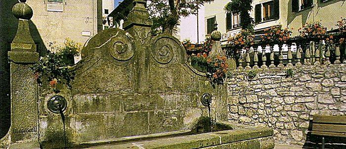 San Marcello Pistoiese - fontana
