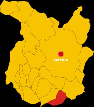 lamporecchio map