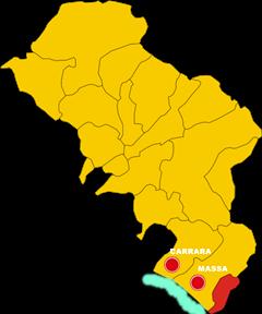 montignoso mappa