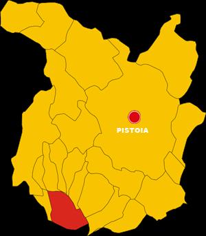 ponte buggianese map
