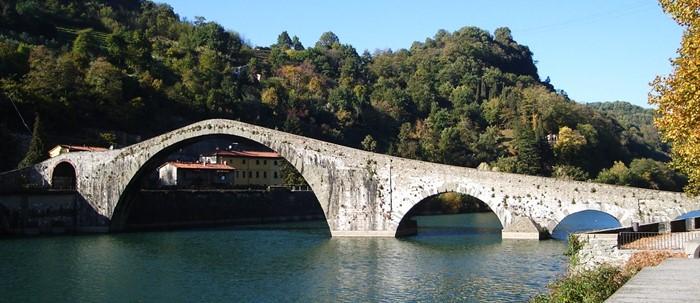 Ponte del Diavolo - Borgo a Mozzano - Lucca