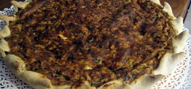 Torta Pepe - piatto tipico di Camaiore