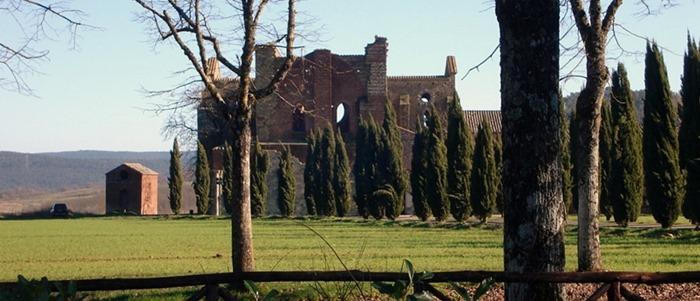 L'abbazia di San Glagano a Chiusdino