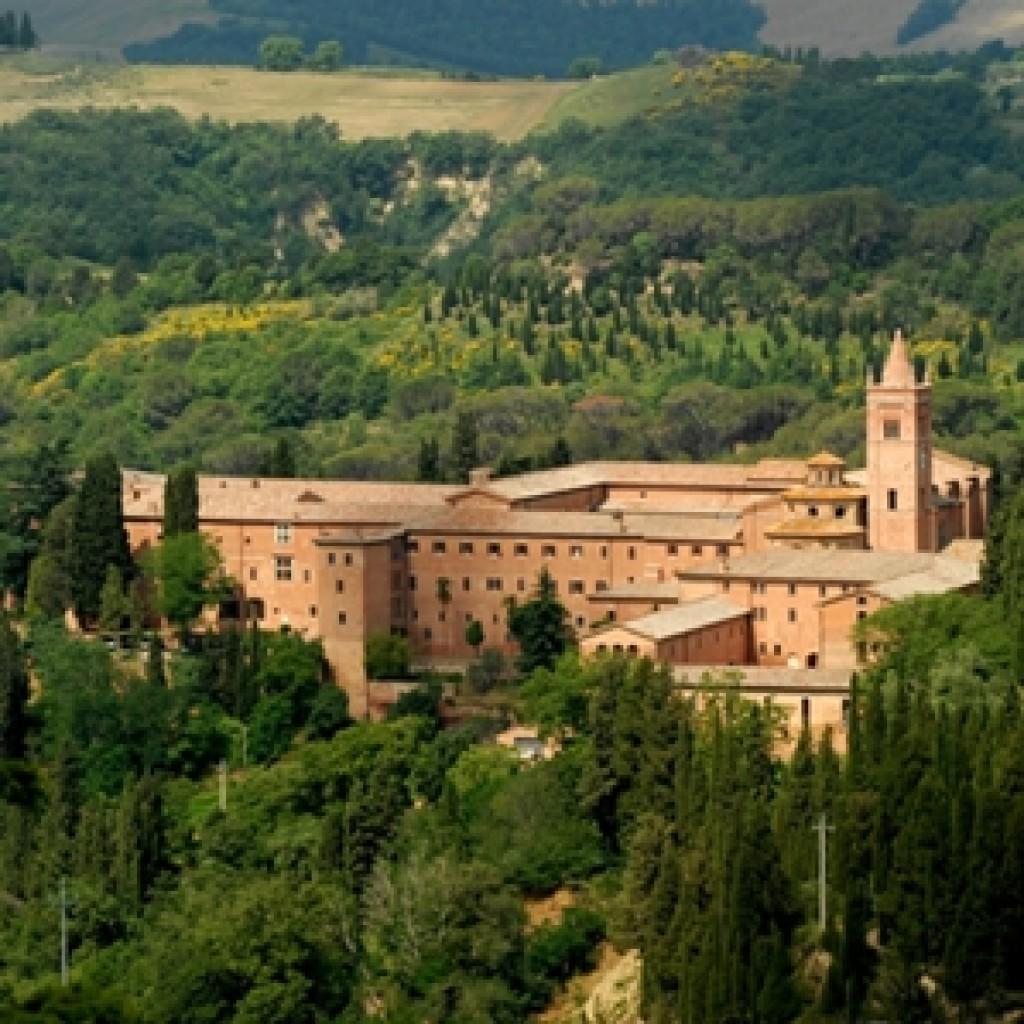 abbazia monte oliveto maggionre