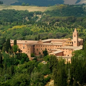 abbazia monte oliveto ad asciano