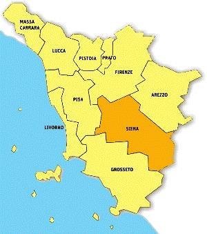 Siena Mappa