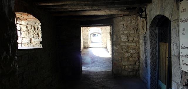 Radda in Chianti camminamento medievale