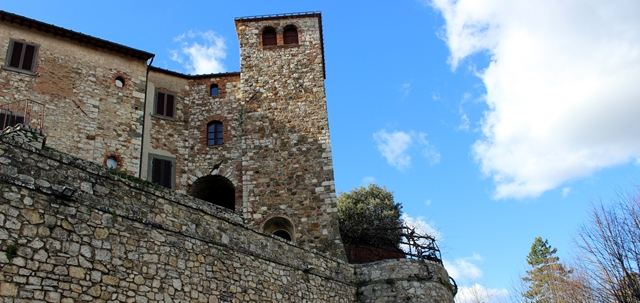 Radda in Chianti vista mura