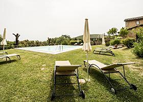 Il Caggio piscina