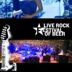 live rock festival beer