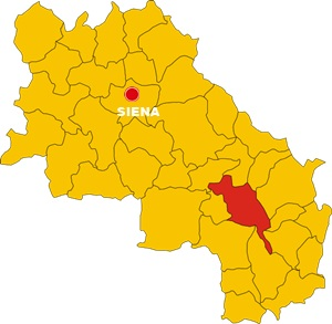 Pienza mappa