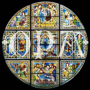 vetrata museo opera duomo di Siena