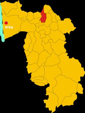 bientina map