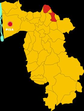castelfranco di sotto map