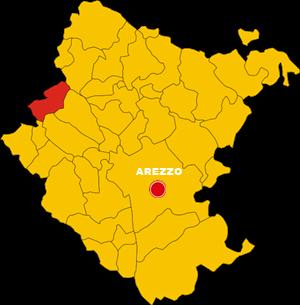 castelfranco piandisco map
