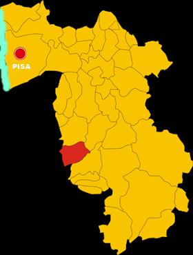 castellina marittima map