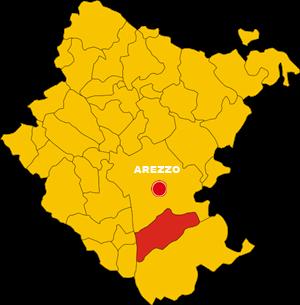 castiglion fiorentino map