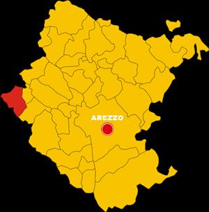 cavriglia map