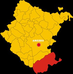 cortona map