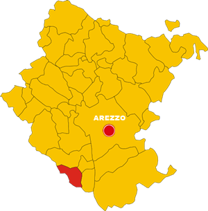 lucignano map