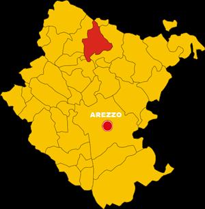 map bibbiena