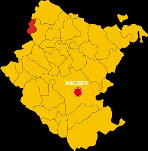montemignaio map