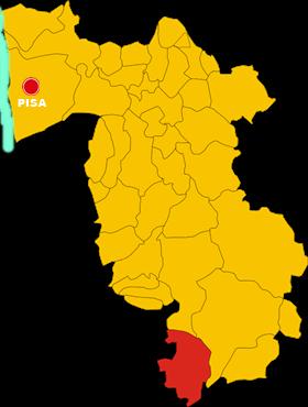monteverde marittimo map