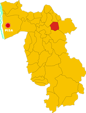 montopoli in valdarno map