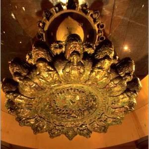 museo etrusco lampadario