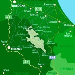 parco foreste casentinesi mappa