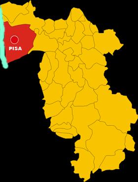 pisa map