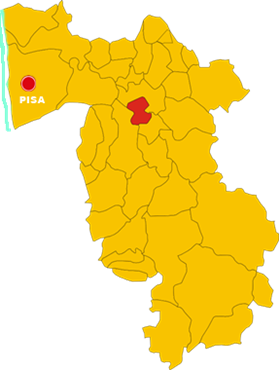 ponsacco map