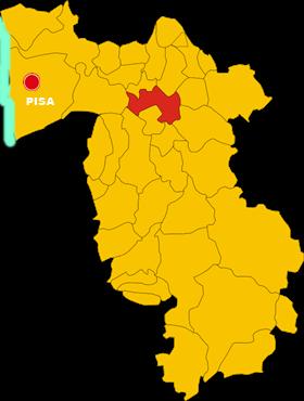 pontedera map