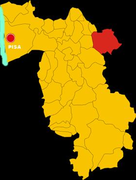 san miniato map