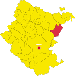sansepolcro mappa
