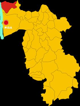 vecchiano map