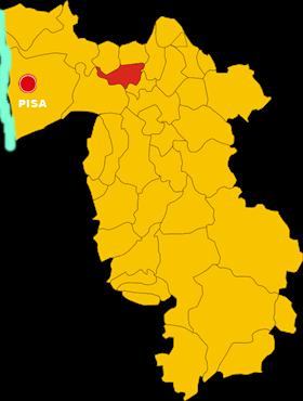 vicopisano map