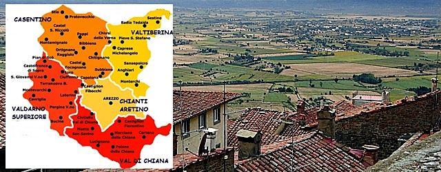 Zone Arezzo