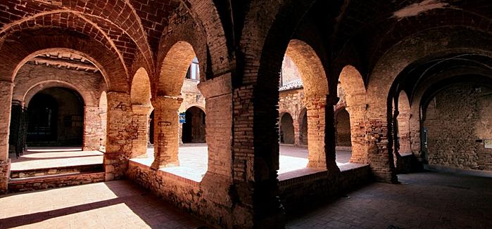 Suvereto Chiostro di San Francesco