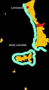 bibbona map