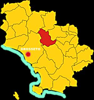 campagnatico mappa