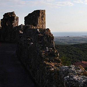 Capalbio - le mura