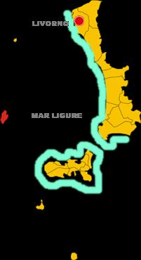 capraia isola map