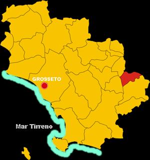 castell'azzarra map