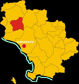 gavorrano map