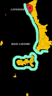 livorno map