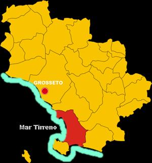 orbetello map