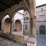 ITALIA, TOSCANA, AMIATA, Castel del Piano (GR): Palazzo Nerucci (XVI secolo)